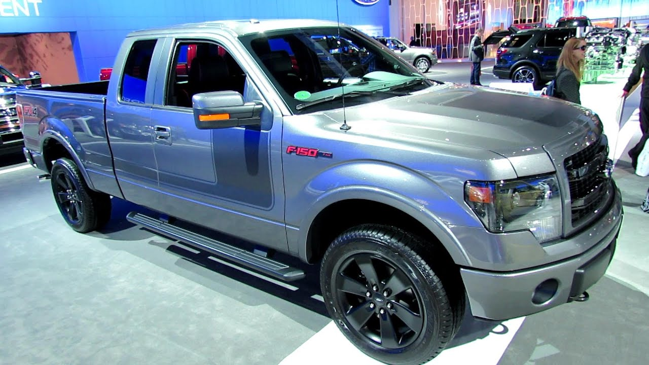 2013 Ford F150 Fx4 >> 2013 Ford F-150 FX4 Exterior and Interior Walkaround ...