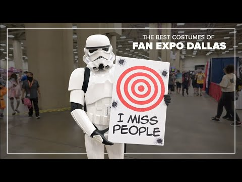 Download The best costumes of Fan Expo Dallas 2021