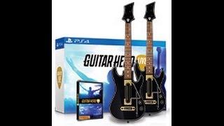 Guitar Hero Live PS4 Unboxing