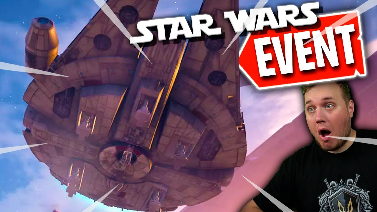 FORTNITE x STAR WARS EVENT *REAKTION* :: Fortnite Dansk m. Vercinger