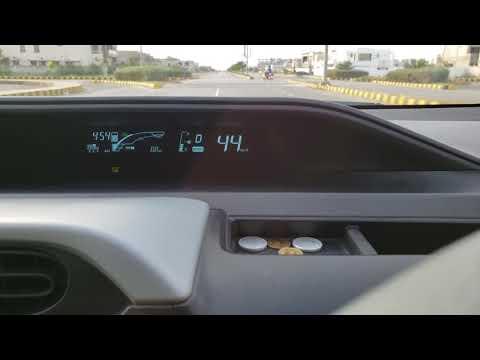 Toyota Aqua/Prius C Maximum Kilometers On EV In URDU