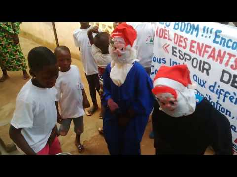 Christmas & New Year in Republic of Benin: African Santa Claus