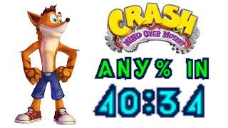 Crash: Mind Over Mutant Speedrun in 40:34