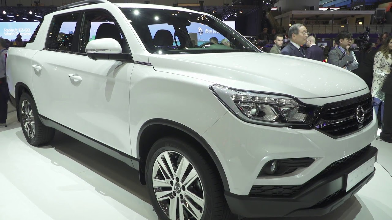 Ssangyong presented the new Musso at the 2018 Geneva ...