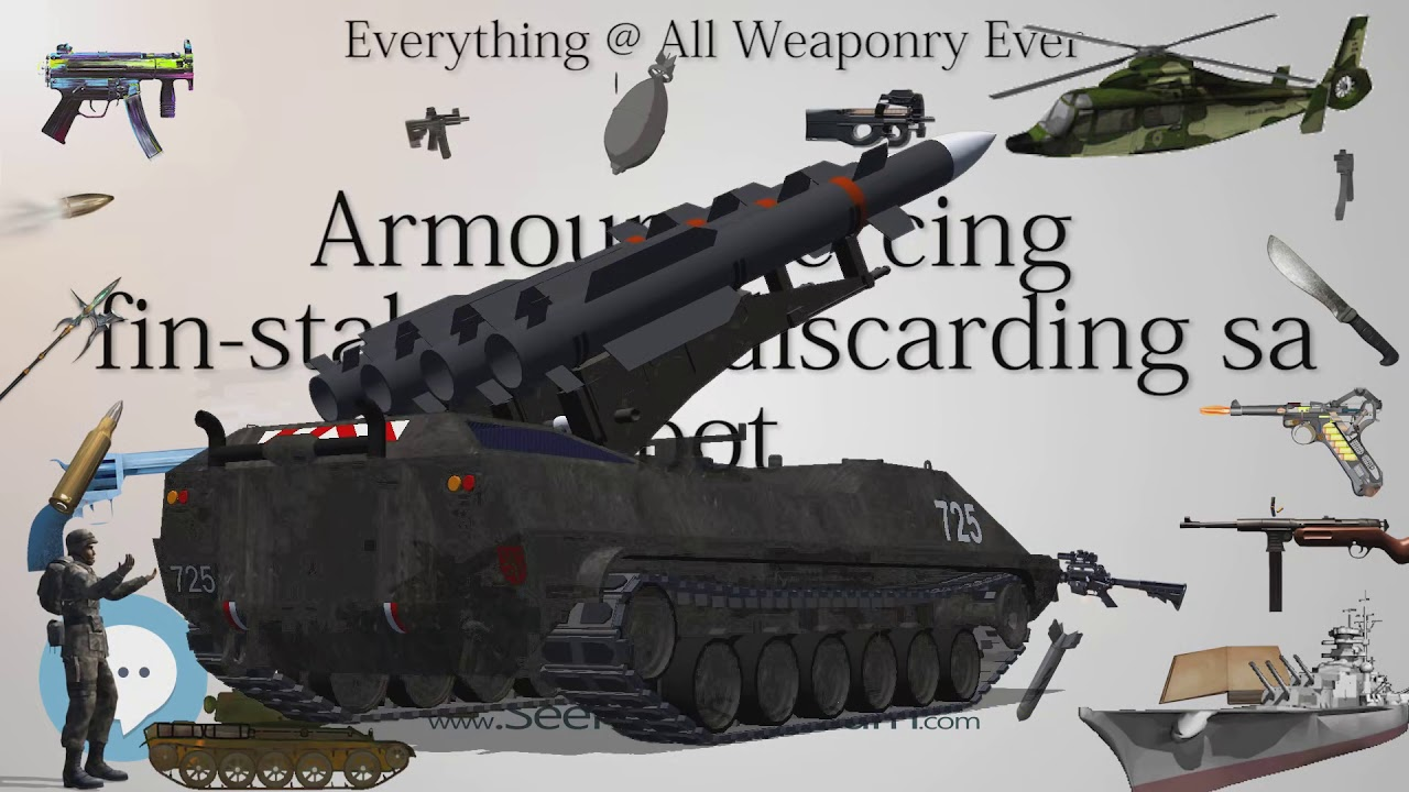 Armour piercing fin stabilized discarding sabot (Everything WEAPONRY &  MORE)💬⚔️🏹📡🤺🌎😜✅