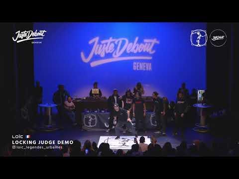 Loïc - Judge demo Juste Demout Geneva 2020