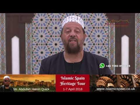 Shaykh Abdullah Hakim Quick - Heritage Tour April 2018