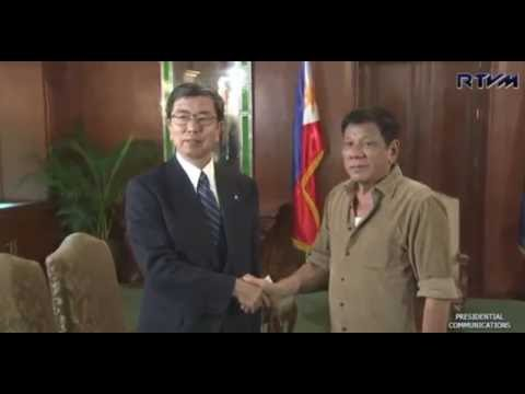 DUTERTE NEWS:Courtesy Call of Asian Development Bank President Takehiko Nakao