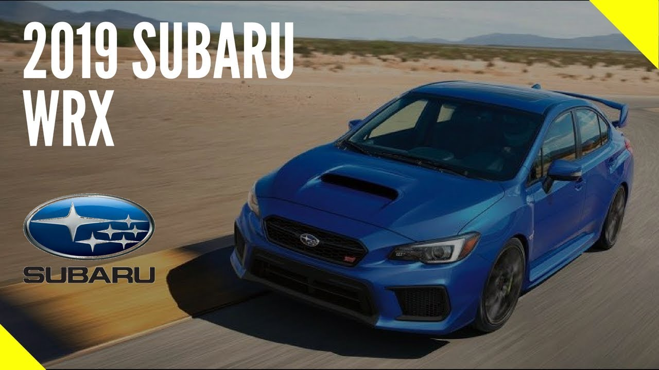 2019 Subaru WRX Review Price release Date - YouTube