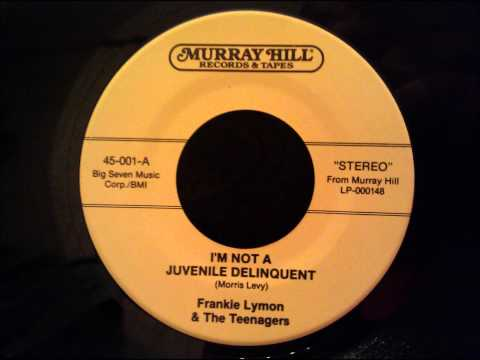 Frankie Lymon and The Teenagers - I'm Not A Juvenile Delinquent - STEREO