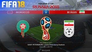 FIFA 18 World Cup - Morocco vs. Iran @ Saint Petersburg Stadium (Group B)