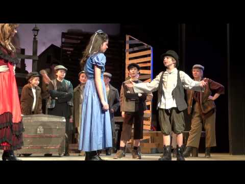 Johnny DiGiorgio as Oliver Singing I'd Do Anything in Oliver!