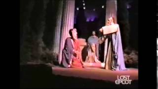 Epcot Future World Spaceship Earth Jeremy Irons Version Multicam Video