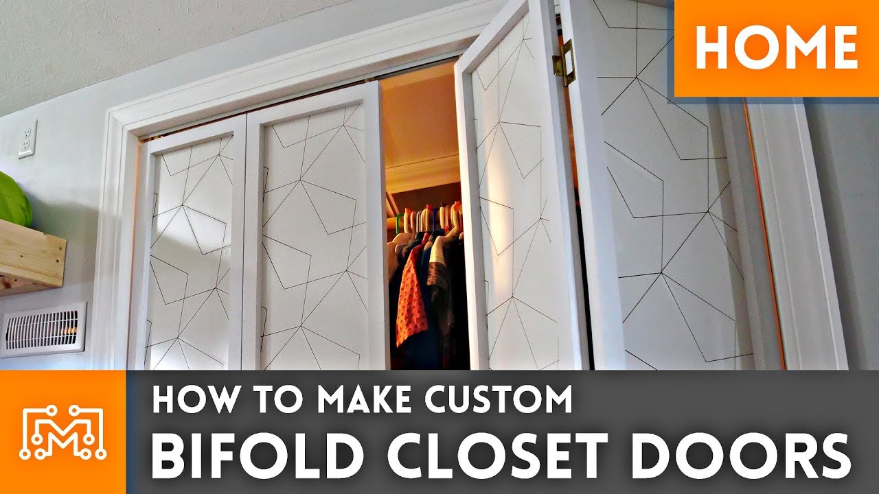 How To Make Custom Bifold Closet Doors Woodworking