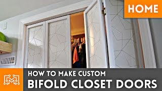 Video How To Make Custom Bifold Closet Doors // Woodworking download MP3, 3GP, MP4, WEBM, AVI, FLV Oktober 2018