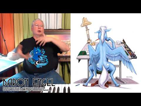 Baron Engel art stream archive 02 17 18