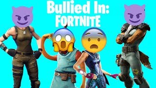 GETTING BULLIED IN FORTNITE (these kids spammed us)