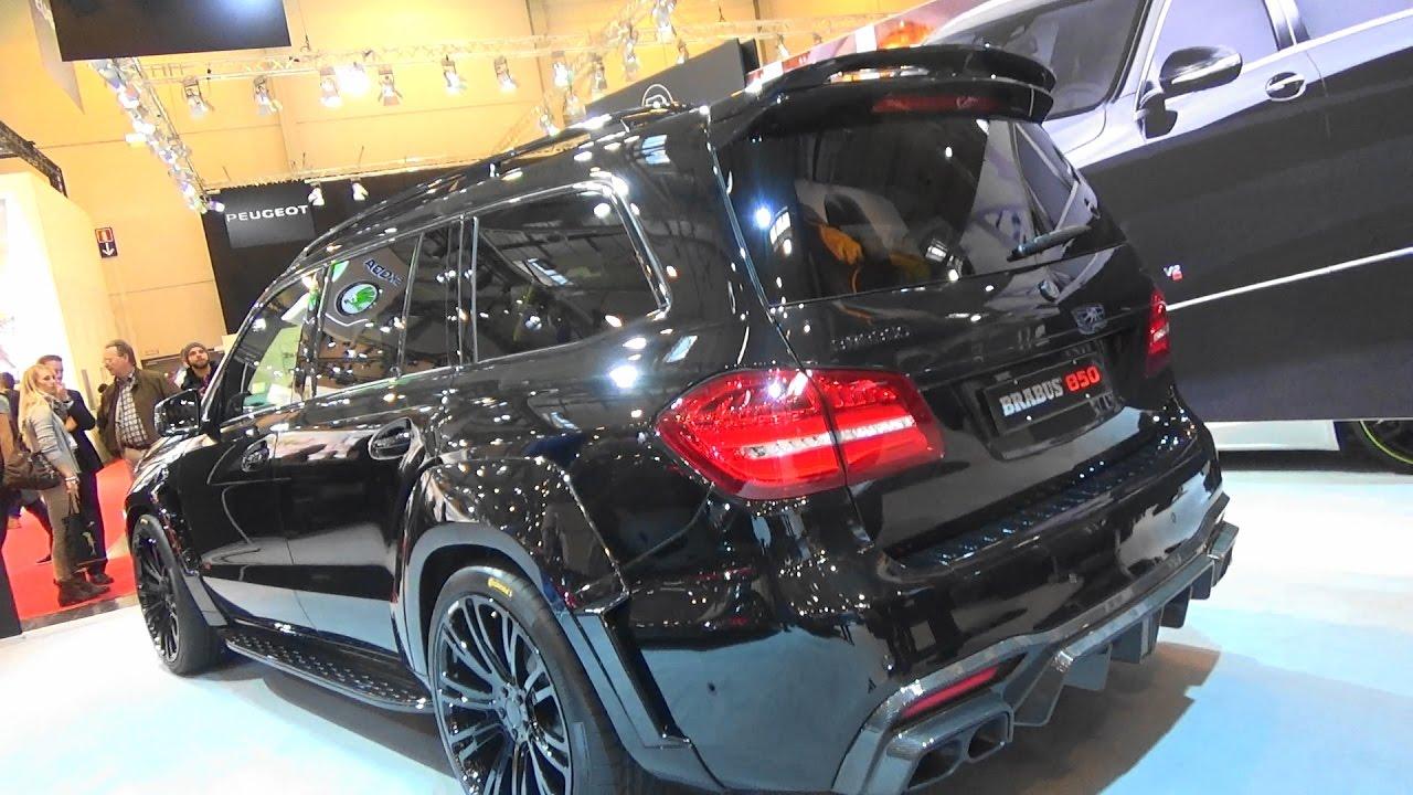 Brabus Gls 850 X166 Essen Motor Show 2016 Youtube