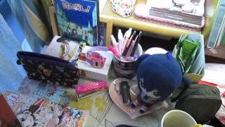 【HD】きらら☆マギカのおまけ マミさん&なぎさちゃんツーショットの下敷き!
