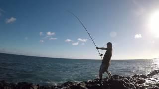 ulua fishing birthday papio
