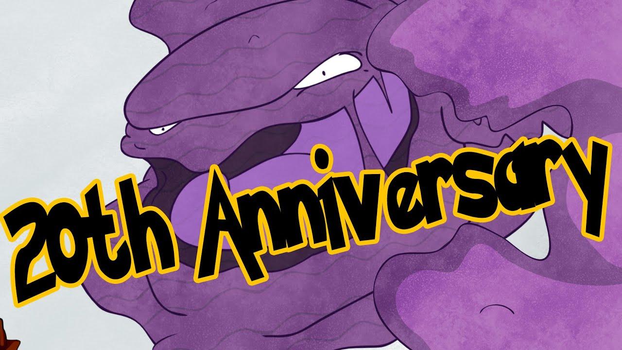 The Original 151 Pokemon 20th Anniversary Mukgrimer Unusualbox