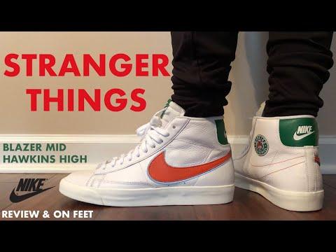 Stranger Things Nike Blazer Mid Hawkins