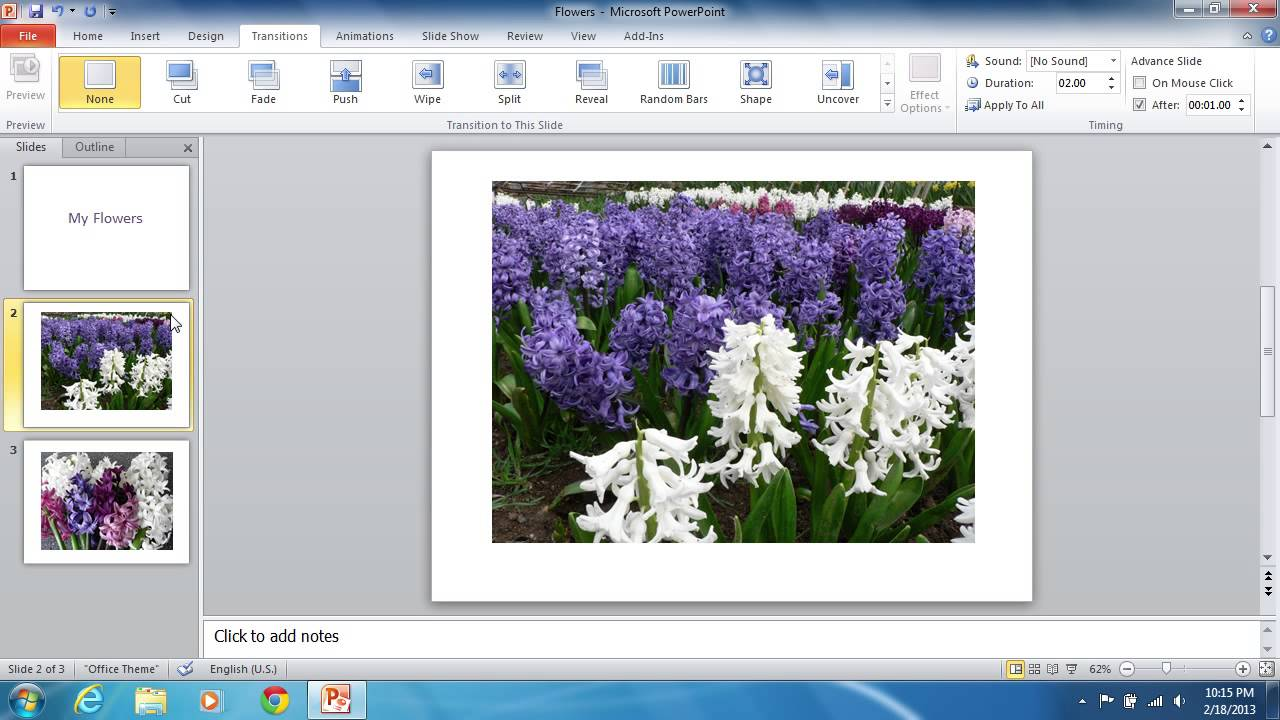 How to Make PowerPoint 2010 Slides
