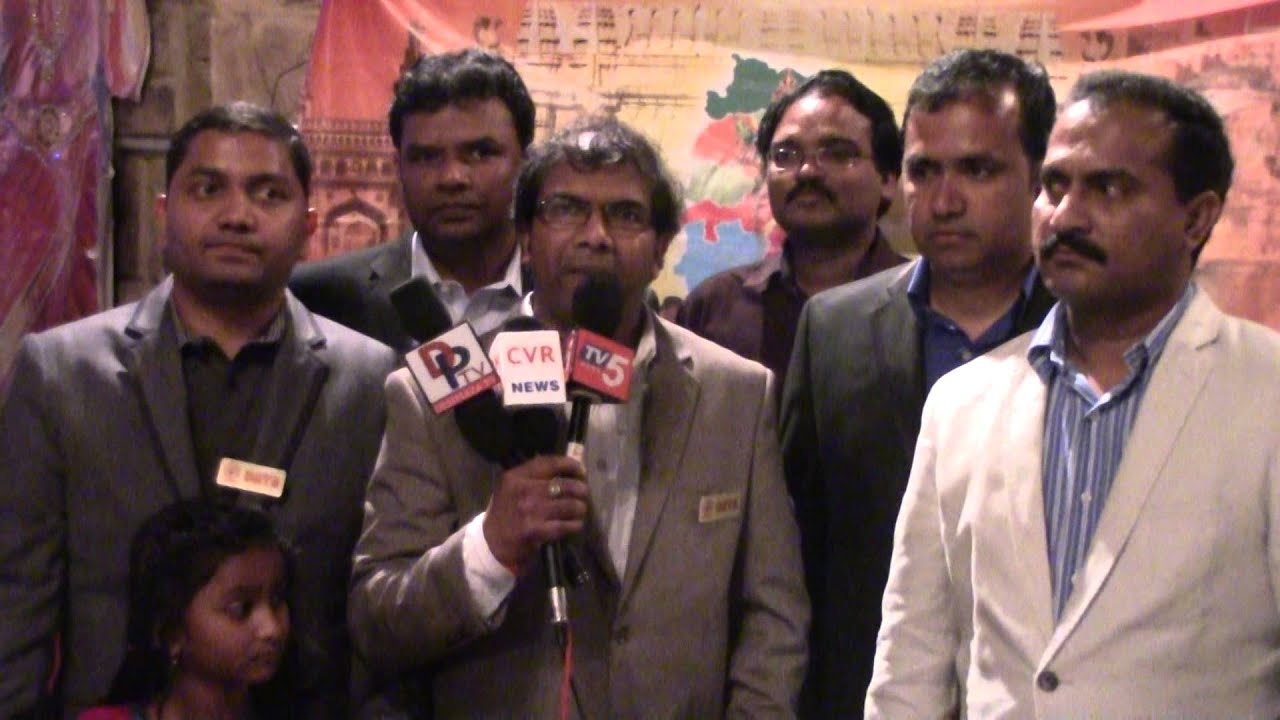 Bhaskar at First Telangana Formation Day Celebrated on June 14th 2015 by DATA