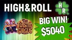 Play Twisted Circus Slot Machine Online (Microgaming) Free Bonus