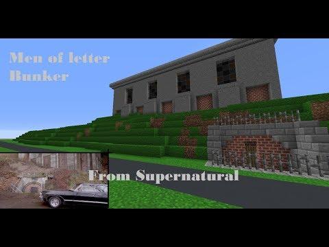 Minecraft Build - Men of Letter's Bunker (From Supernatural)