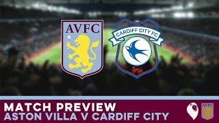 MATCH PREVIEW | Aston Villa v Cardiff City