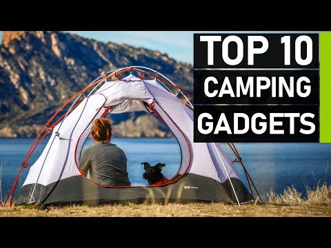 Top 10 Latest Camping Gadgets & Gear Inventions In 2020