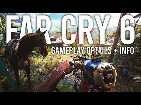 Far Cry 6 Gameplay details and Info!