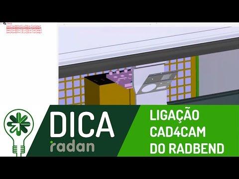 Dica 01 RD | Ligação CAD4CAM do Radbend