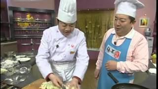 1. Жареные помидоры и брокколи с грибами 2. Пекинская капуста кисло-сладкая