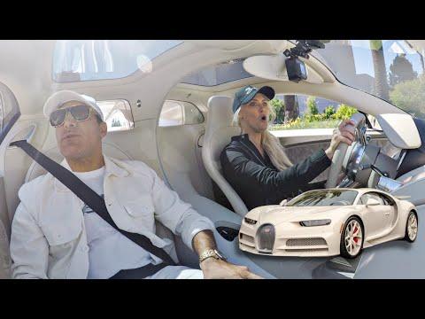 SUPERCAR BLONDIE ALMOST WRECKS MY HERMES BUGATTI CHIRON! || Manny Khoshbin