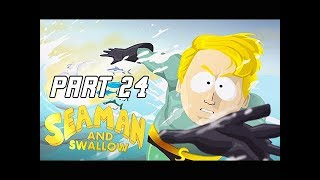 South Park The Fractured But Whole Walkthrough Part 24 - SEAMAN (Let's Play Commentary)