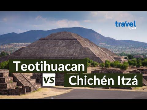 Teotihuacan vs Chichén Itzá, ¿cuál visitar?