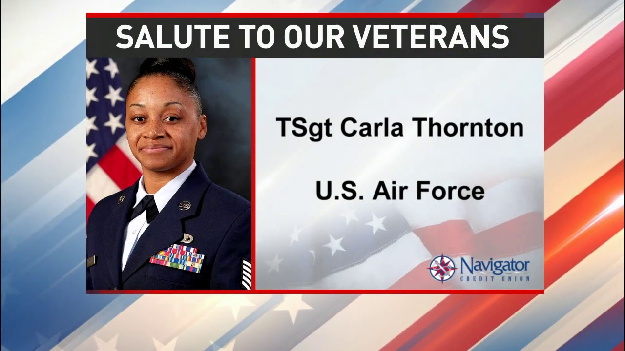 Salute to our veterans: Technical Sergeant Carla Thornton - NBC 15 WPMI