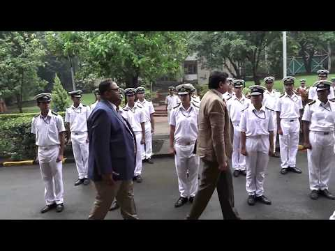 Guard of Honour by Maritime Training Institute (SCI) on The Day of Seafares 2017