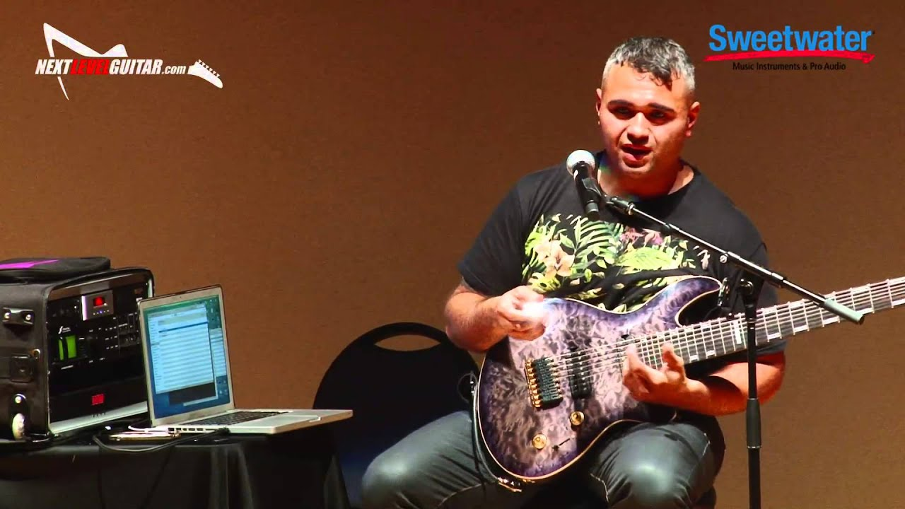 sweetwater gearfest 2015 javier reyes clinic pt2 on songwriting