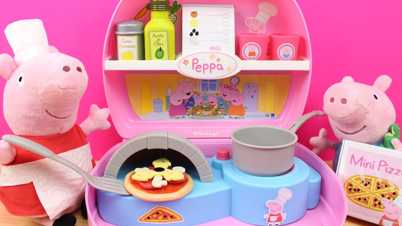 Maletín Mini Pizzería de Peppa Pig en español | Juguetes de Peppa ...