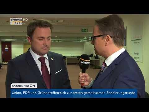 Xavier Bettel zum Brexit und zur Tagung des Europäischen Rates am 20.10.17