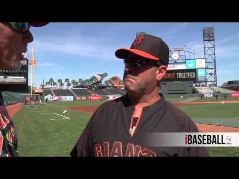 Batting Practice Chatter with Will Clark, San Francisco Giants