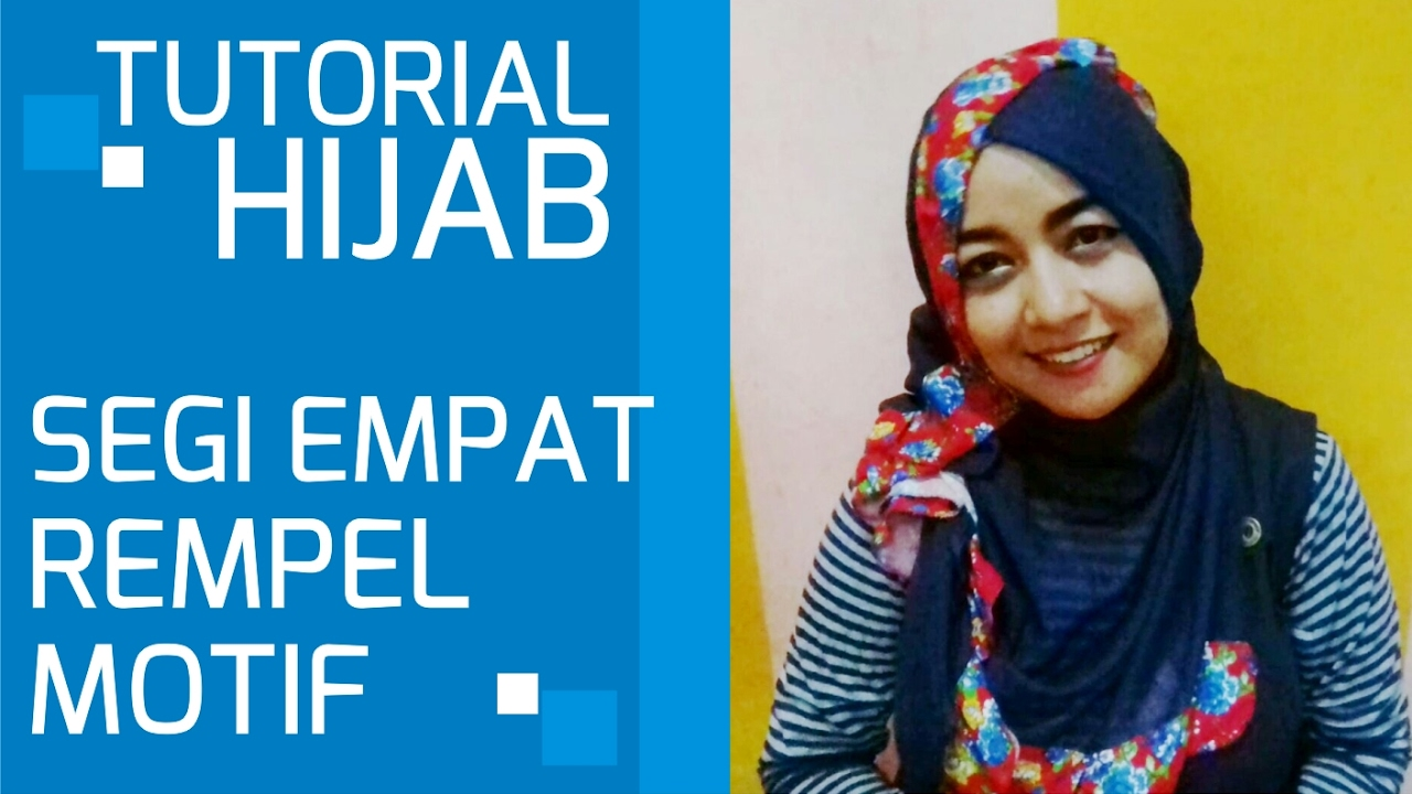 Hijab Tutorial Square Rempel Uneasy One YouTube
