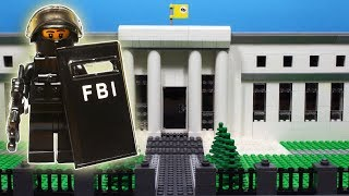 Lego SWAT  Central Bank Robbery Fail / FBI SWAT