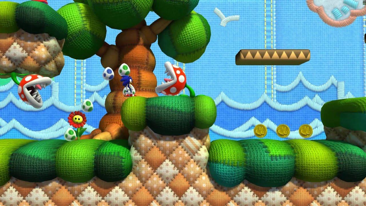 Sonic Lost World Yoshi S Island