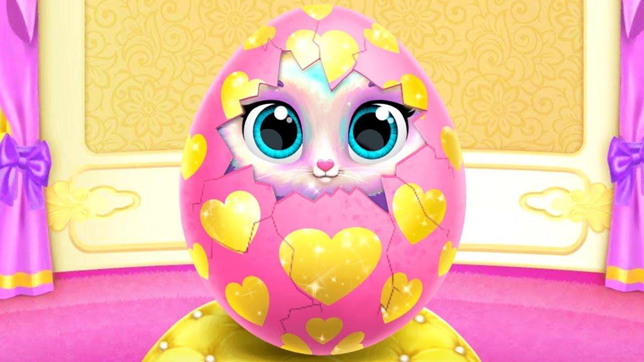 Play Fun New Born Baby Kitten Care Games – Twinkle Unicorn Cat Princess – Babysitter, Care, Dress Up