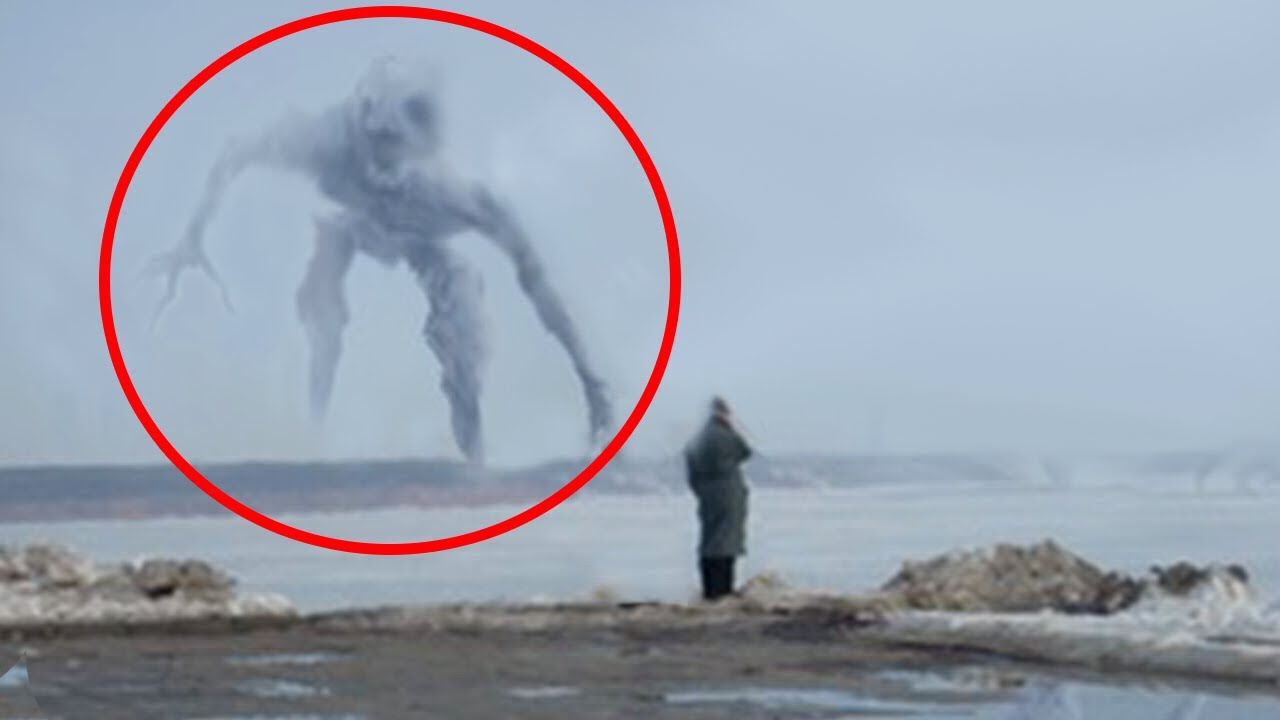 5 Mysterious Creatures Caught On Camera Giants