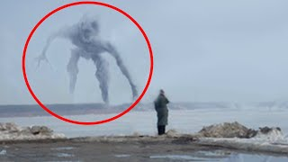 5 Mysterious Creatures Caught On Camera 🔷 Giants & Monsters